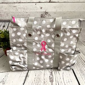 🆕 NEW Thirty-One Cares Breast Cancer Tote